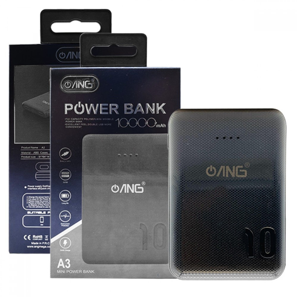 ANG A3 Portable Power Bank 10000Mah