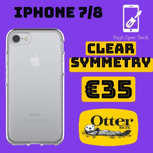iphone 7/8 clear otterbox symmetry